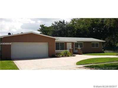 Broward County Single Family Home Active-Available: 1701 Northwest 106th Ave