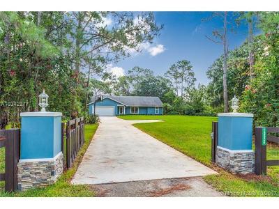 Jupiter Single Family Home For Sale: 18520 N 126th Ter