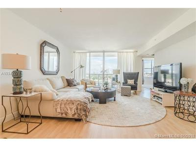 Miami Beach Condo For Sale: 1900 Sunset Harbour Dr #1115