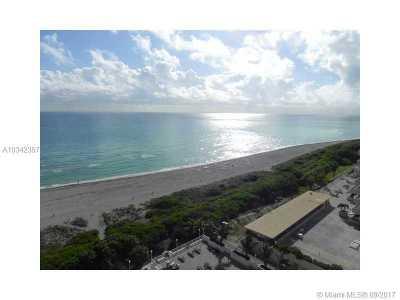 Miami-Dade County Condo Active-Available: 5701 Collins Av #1408