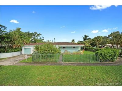 Miami Shores Single Family Home For Sale: 145 NW 95th St
