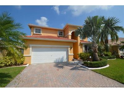 Broward County Single Family Home Active-Available: 18675 Southwest 15th St