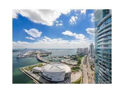 Miami-Dade County Condo Active-Available: 900 Biscayne Blvd #4703