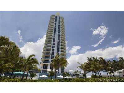 Miami-Dade County Condo Active-Available: 18683 Collins Ave #808