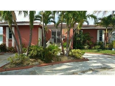 Miami-Dade County Single Family Home Active-Available: 1233 Northeast 81st Ter
