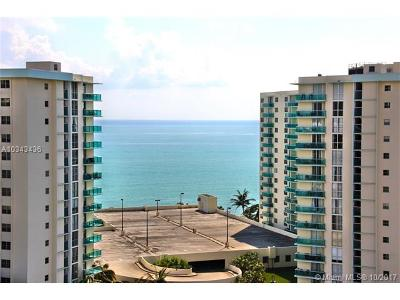 Hollywood Condo Active-Available: 3800 South Ocean Dr #1416