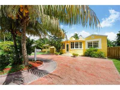 Miami-Dade County Single Family Home Active-Available: 1059 Northeast 88th St
