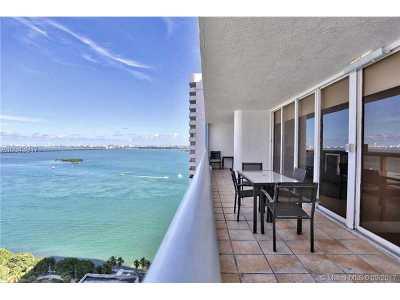 Miami-Dade County Condo Active-Available: 1717 North Bayshore Dr #A-3550