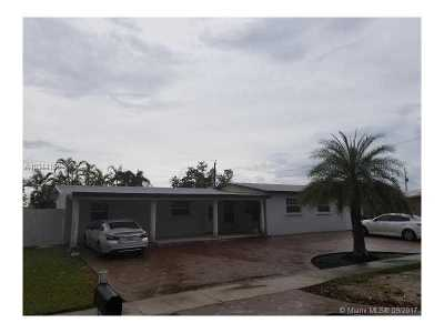 Hialeah Single Family Home Active-Available: 8351 Northwest 170th Ter