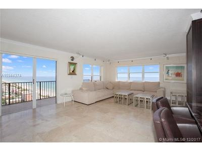 Hollywood Condo For Sale: 1201 S Ocean Drive #2302