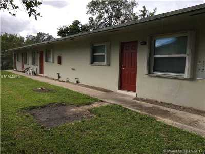 Fort Lauderdale Multi Family Home For Sale: 1851 SW 25th St