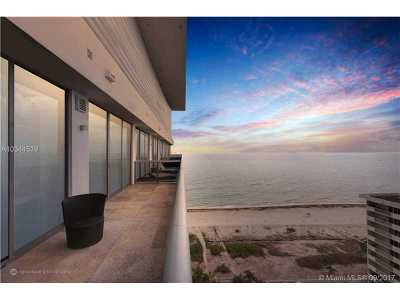 Miami-Dade County Condo Active-Available: 5875 Collins Ave #PH-6