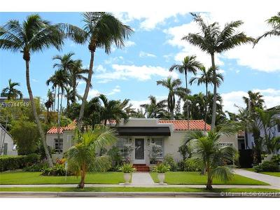 Miami-Dade County Single Family Home Active-Available: 714 Northeast 73rd St