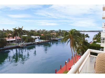 Bay Harbor Islands Condo For Sale: 10140 W Bay Harbor Dr #403C