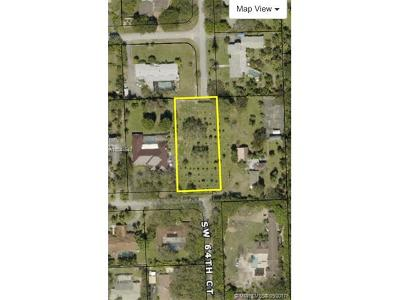 Pinecrest Residential Lots & Land For Sale: 6445 SW 131st Street