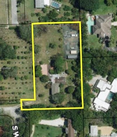 Pinecrest Residential Lots & Land For Sale: 12929 SW 64th Ct