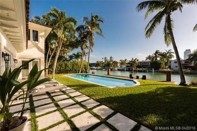 Miami Beach Single Family Home For Sale: 4515 N Meridian Ave