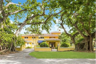 Coral gables Single Family Home For Sale: 2925 Columbus Blvd.
