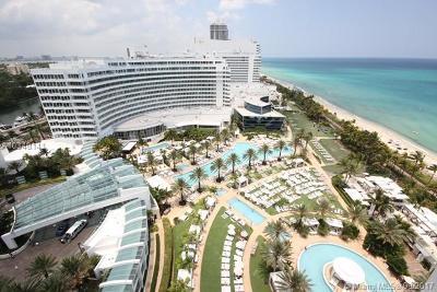 Miami Beach Single Family Home For Sale: 4391 Collins Ave #1403