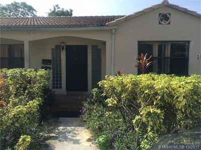 North Miami Single Family Home For Sale: 620 NE 140th St