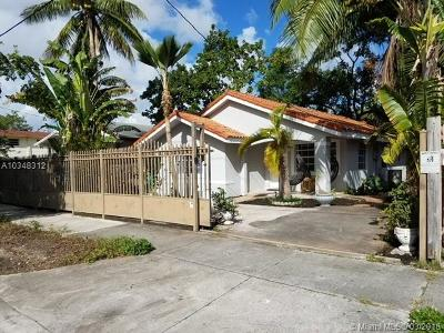 Single Family Home For Sale: 51 NW 35th St