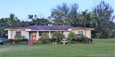 Miami Gardens Single Family Home For Sale: 17645 NW 19th Ave