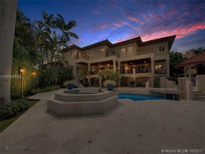 Coral Gables Single Family Home For Sale: 380 Isla Dorada Blvd