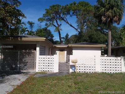 Fort Lauderdale Single Family Home For Sale: 1705 SW 11th St