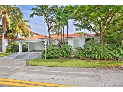 Key Biscayne Single Family Home For Sale: 101 Hampton Ln