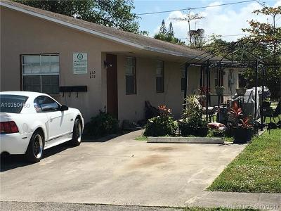 Dania Beach Multi Family Home For Sale: 55 SW 13th St