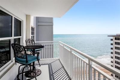 Fort Lauderdale Condo For Sale: 3750 Galt Ocean Dr #1804