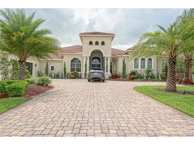 Davie Single Family Home For Sale: 12922 Grand Oaks Dr