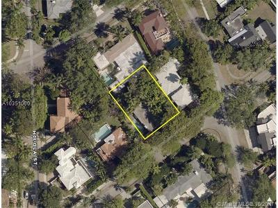 Coconut Grove Residential Lots & Land For Sale: 1669 Onaway