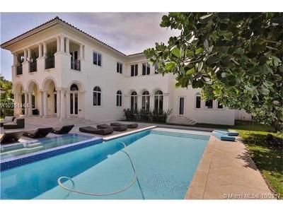 Bay Harbor Islands Single Family Home For Sale: 9601 E Broadview