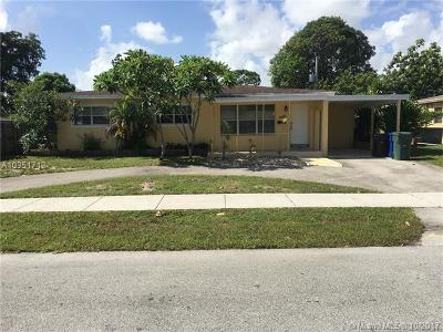 Fort Lauderdale Single Family Home For Sale: 3160 SW 20th Ct