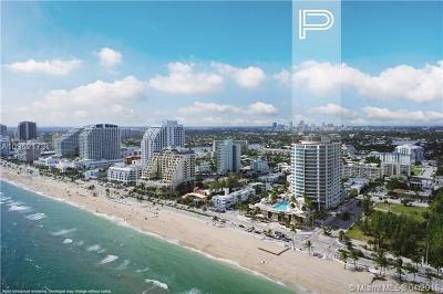 Fort Lauderdale Condo For Sale: 701 N Fort Lauderdale #904