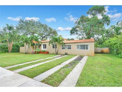 Miami Shores Single Family Home For Sale: 262 NE 103rd St