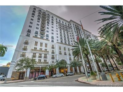 Coral Gables Condo For Sale: 10 Aragon Ave #1519-152