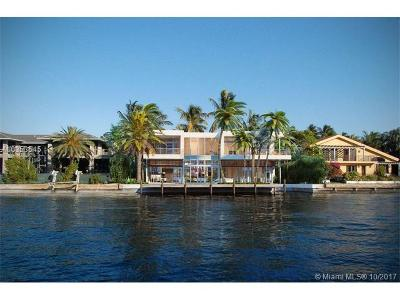 Golden Beach Single Family Home For Sale: 373 Center Island Dr