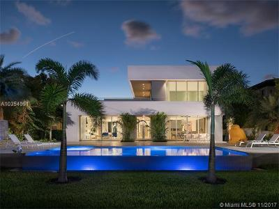 Miami Beach FL Single Family Home For Sale: $12,900,000