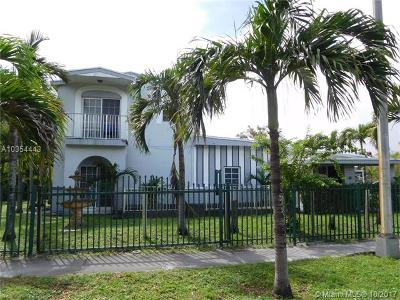 North Miami Single Family Home For Sale: 290 NW 136th St