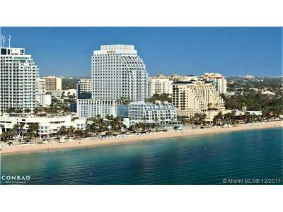 Fort Lauderdale Condo For Sale: 551 N Fort Lauderdale Beach Blvd #H806