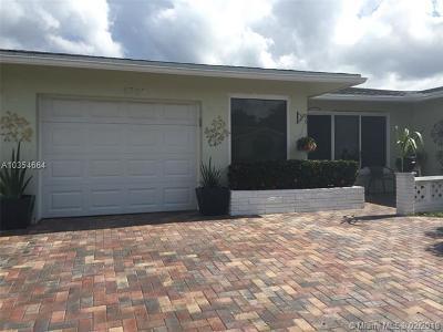 Tamarac Single Family Home For Sale: 6705 NW 58 Ct