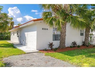 Surfside Single Family Home For Sale: 9224 Harding Avenue
