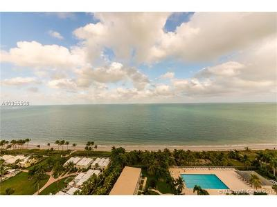 Key Biscayne Condo For Sale: 881 Ocean Dr #18F