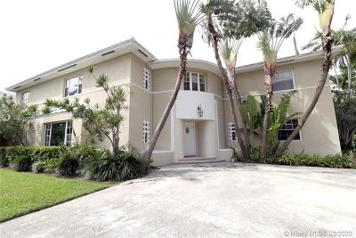 Miami Beach Single Family Home For Sale: 2560 Sunset Drive