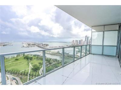 Miami Condo For Sale: 1100 Biscayne Blvd #3303