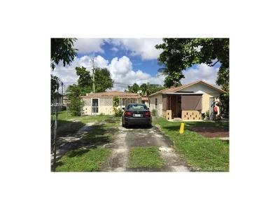 Miami Single Family Home For Sale: 575 NW 99th St