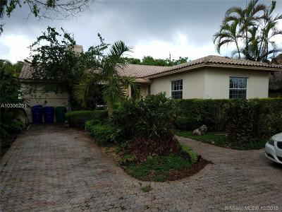 Miami Single Family Home For Sale: 901 NE 73rd St