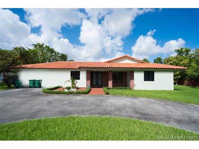 Miami Single Family Home For Sale: 11877 SW 47th St